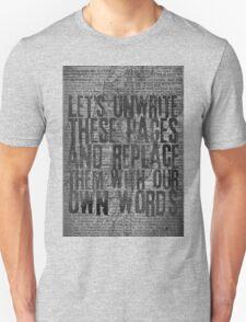 Rise Against - Swing Life Away - Unwrite Unisex T-Shirt
