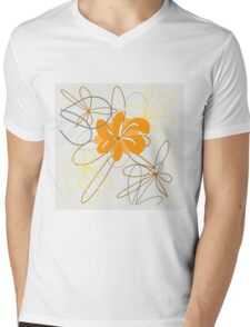 art flower abstract beauty backgrounds beautiful nature floral spring Mens V-Neck T-Shirt