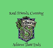 Slytherin Crest, Harry Potter, Cunning, geek by NerdGirlTees