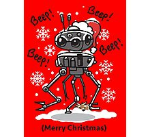 Imperial Droid Robot Christmas Holidays Special Photographic Print