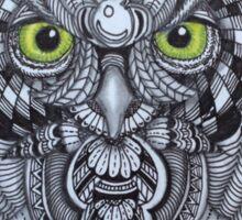 A Tangled Owl Sticker