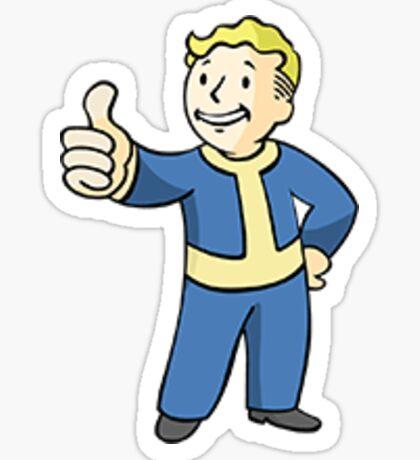 Pip Boy Sticker Sticker
