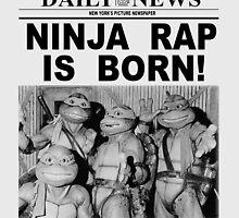 Ninja Rap Is Born by hordak87