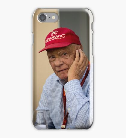Niki Lauda Formula 1 iPhone Case/Skin