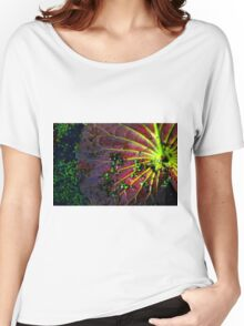 Cypress Swamp Lily Pad Women's Relaxed Fit T-Shirt