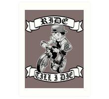 Pokemon Ride Till I Die  Art Print