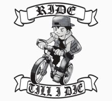 Pokemon Ride Till I Die  Kids Tee