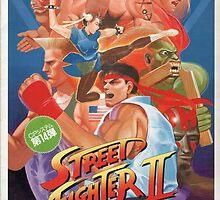 Street Fighter 2 (The World Warrior) by 808sxHeartbreak