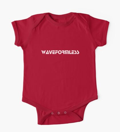 Waveformless Logo, Sequential Font One Piece - Short Sleeve