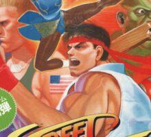 Street Fighter 2 (The World Warrior) Sticker