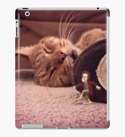 bilbo & smaug - hell's kitchen iPad Case/Skin