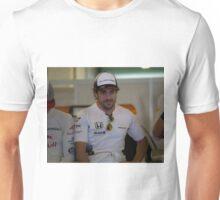 Fernando Alonso Formula 1 Unisex T-Shirt
