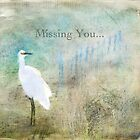 Missing You ~ Greeting Card by Susan Werby