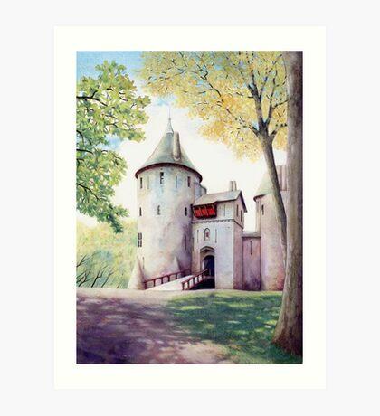 Castell Coch, Cardiff Art Print