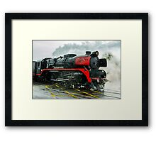 R707 - City of Melbourne Steam Train #2 Framed Print
