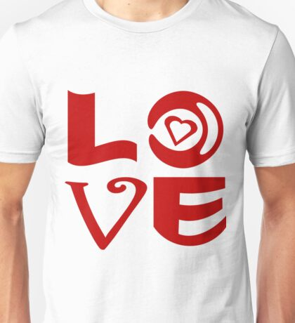 Love Letter Abstract Unisex T-Shirt