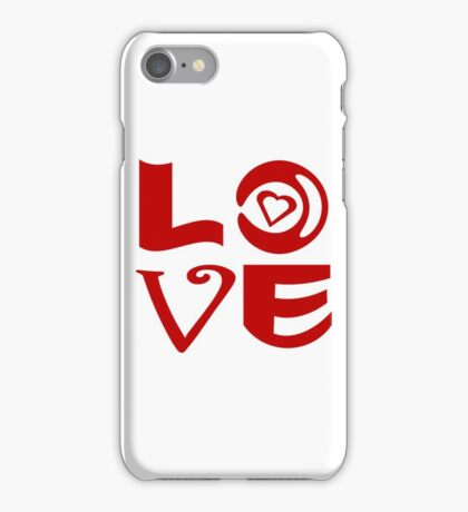 Love Letter Abstract iPhone Case/Skin