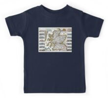 Map of Scotland - Geographicus Ecosse ratelband - 1747 Kids Tee