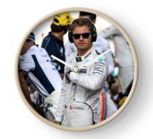 Nico Rosberg Formula 1 World Champion 2016 Clock