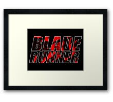 BLADE RUNNER Framed Print