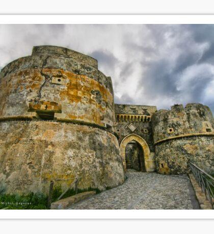 Le chateau de Milazzo Sticker