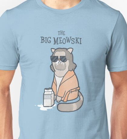 The Big Meowski Unisex T-Shirt
