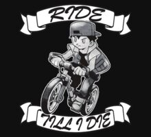 Pokemon Ride Till I Die (Different Font) by morales138