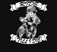 Pokemon Ride Till I Die (Different Font) Unisex T-Shirt