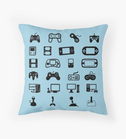 Videogames Throw Pillow