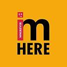Wherever i GO, i'm HERE by Alex Preiss