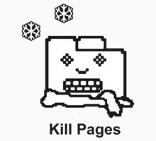Kill Pages Kids Tee