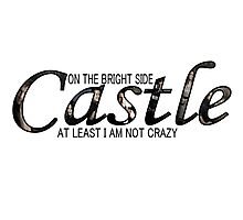 Castle - Not Crazy Photographic Print
