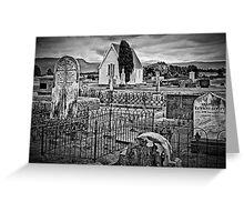A Country Churchyard Greeting Card