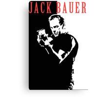 Jack Bauer Canvas Print