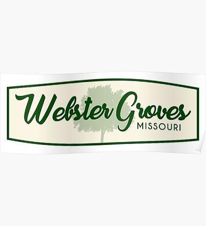 Webster Groves, Missouri Poster