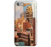 NYC Skyscraper Painting iPhone Case/Skin