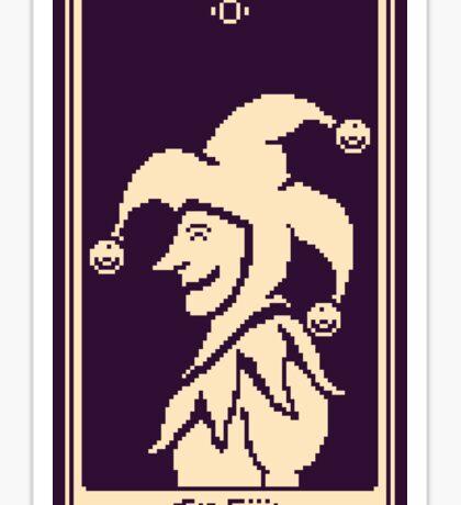 The Fool Tarot Card Sticker