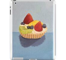Fruit Tart Painting iPad Case/Skin
