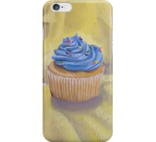 Vanilla Cupcake with Sprinkles Painting iPhone Case/Skin