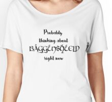 Thinking about Bagginshield Women's Relaxed Fit T-Shirt