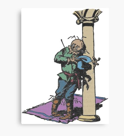 The Scarecrow Canvas Print
