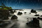 Volcanic Moonlight - Maui  by Michael Treloar