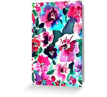 Zoe Floral Pink Greeting Card
