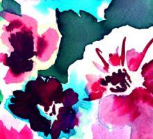 Zoe Floral Pink Sticker