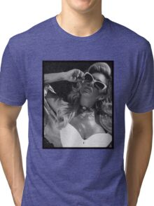 Chanel West Coast glasses Tri-blend T-Shirt