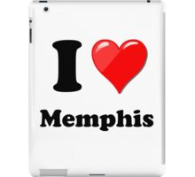 I Love Memphis iPad Case/Skin