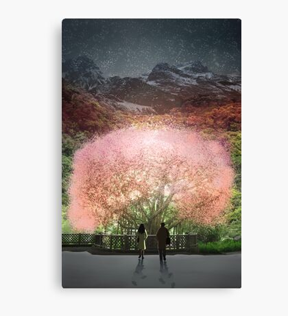 A year went by in a single day Canvas Print