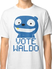 Vote Waldo – Black Mirror Classic T-Shirt