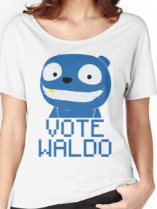 Vote Waldo – Black Mirror Women's Relaxed Fit T-Shirt