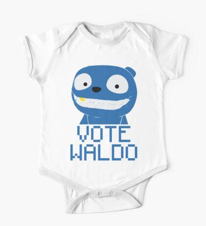 Vote Waldo – Black Mirror One Piece - Short Sleeve